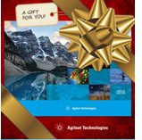 A GIFT FOR YOU: THE AGILENT 2016 CALENDAR