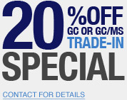 GC and GC/MS Trade-In Promotion